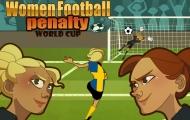 Frau Fußball Elfmeter Champions