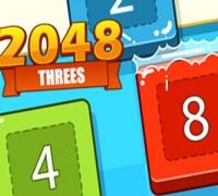 2048 Threes spielen