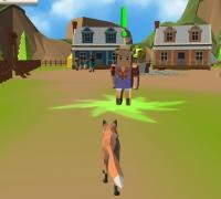 3D Fox Simulator spielen