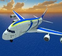 Airplane Fly Simulator spielen