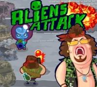 Aliens Angriff spielen