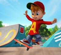 Alvin Skateboard Profi spielen