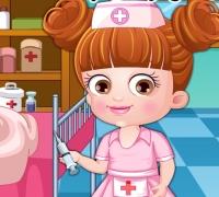 Baby Hazel Doktor spielen