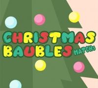 Christmas Baubles Match 3 spielen