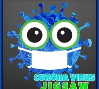 Corona Virus Jigsaw spielen