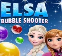 Elsa Bubble Schütze spielen