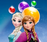 Elsa Bubble Shooter spielen
