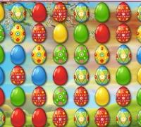 Farbige Eier spielen