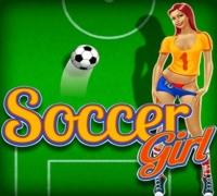 Fußball Mädchen spielen