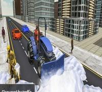 Grand Snow Clean Road Driving Simulator 19 spielen