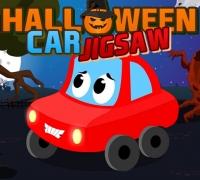 Halloween Car Jigsaw spielen