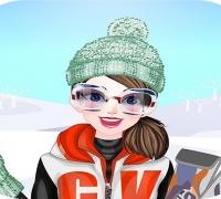 Happy Ski Dressup spielen