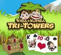 Kiba & Kumba Tri Türme Solitaire spielen