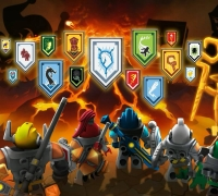 Lego Nexo Knights Match spielen