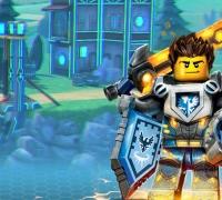 Lego Nexo Knights Puzzle spielen