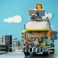 Lego Truck Puzzle spielen