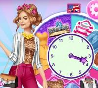 Lucy Hale Rund Um Die Uhr Fashionista spielen