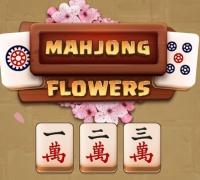 Mahjong Blumen spielen