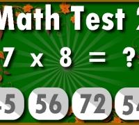 Mathe-Test spielen