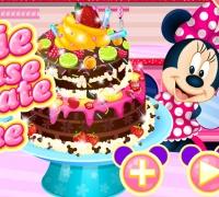 Minnie Mouse Chocolate Cake spielen