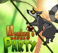 Monkeys Ropes Party spielen