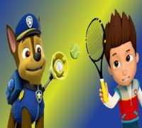Paw Patrol Tennis spielen