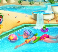 Pool Vergnügen spielen