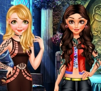 Princess Bad Girls Makeover spielen