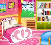 Prinzessin Zimmer Dekoration spielen