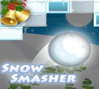 Schnee Matsch spielen