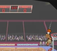 Sport Köpfe: Basketball-Meisterschaft spielen