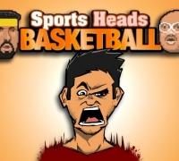 Sport Köpfe Basketball spielen