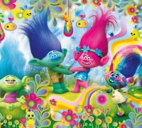 Trolls: Poppys Frisuren-Zauber spielen