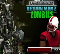 Zombie Amerikanischer Fußball spielen