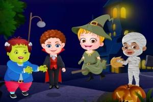 Baby Hazel Halloweennacht