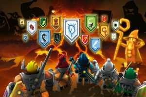 Lego Nexo Knights Match