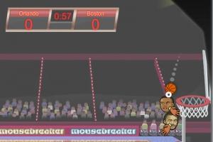 Sport Köpfe: Basketball-Meisterschaft